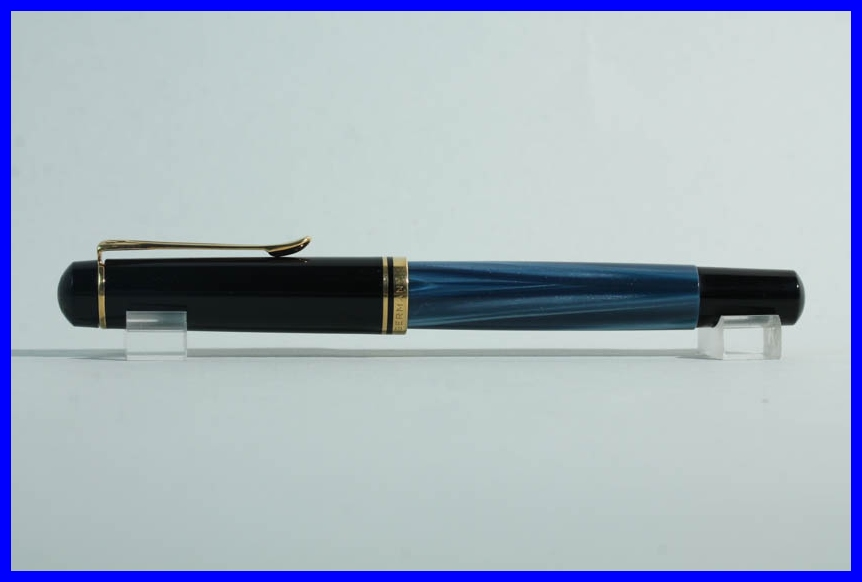 pelikan m200 f ller in federst rke m blau marmoriert schwarz gold ebay. Black Bedroom Furniture Sets. Home Design Ideas